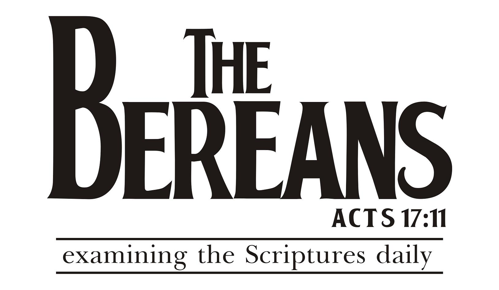 Bereans acts 17